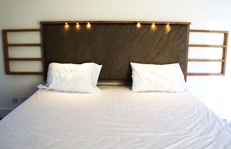 Respaldo de cama vinilos adhesivos decorativos pared - Respaldos para camas ...